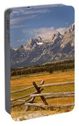 The Majestic Tetons Portable Battery Charger