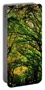 The Mall In Fall Portable Battery Charger