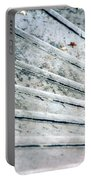 The Marble Steps Of Life Portable Battery Charger by Vicki Ferrari