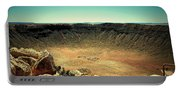The Meteor Crater In Az Portable Battery Charger