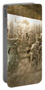 The Miracle At Cana In Galilee - Wieliczka Salt Mine Portable Battery Charger