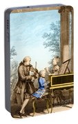 The Mozart Family On Tour 1763 Portable Battery Charger