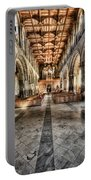 The Nave At St Davids Cathedral 3 Portable Battery Charger