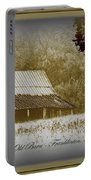 The Old Barn - Franklinton N.c. Portable Battery Charger