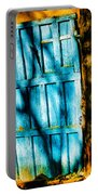 The Old Blue Door Portable Battery Charger