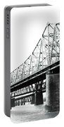 The Old Bridges At Memphis Portable Battery Charger