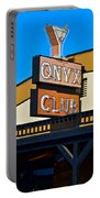 The Onyx Club Portable Battery Charger