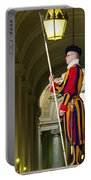 The Papal Swiss Guard Portable Battery Charger