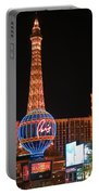 The Paris At Night Portable Battery Charger