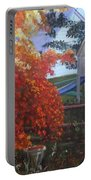The Playhouse In Fall Portable Battery Charger