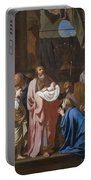 The Presentation Of Christ In The Temple Portable Battery Charger