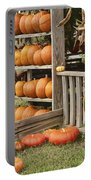 The Pumpkin Shack At Isom's Orchard Portable Battery Charger