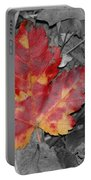 The Red Leaf Portable Battery Charger