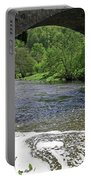 The River Dove Beneath Coldwall Bridge Portable Battery Charger