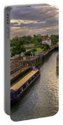 The River Thames At Goring Portable Battery Charger
