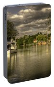 The River Thames At Streatley Portable Battery Charger