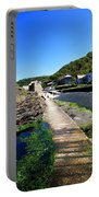 The River Valency At Boscastle Portable Battery Charger