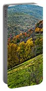 The Road To Glady Wv Painted Portable Battery Charger