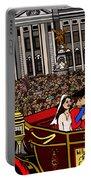 The Royal Wedding  Portable Battery Charger by Karen Elzinga