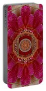 The Sacred Orchid Mandala Portable Battery Charger