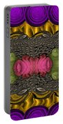 The Sacred Pond Pop Art Portable Battery Charger