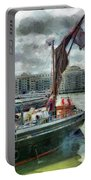 The Sailing Barge Lady Daphne Portable Battery Charger
