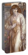 The Salutation  Portable Battery Charger by Dante Charles Gabriel Rossetti