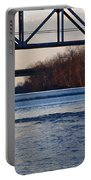 The Schuylkill River At Bridgeport Portable Battery Charger