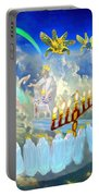 The Sevenspirits Of God In Revelations Portable Battery Charger