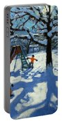 The Slide In Winter Portable Battery Charger by Andrew Macara