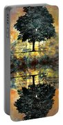 The Small Dreams Of Trees Portable Battery Charger by Tara Turner