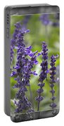 The Smell Of Lavender  Portable Battery Charger