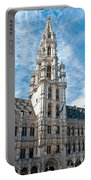 the Spire of  Brussels Portable Battery Charger