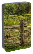 The Split Rail Meadow Portable Battery Charger