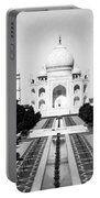 The Taj Mahal In Agra India - C 1906 Portable Battery Charger