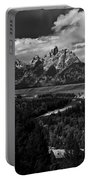 The Tetons - Il Bw Portable Battery Charger
