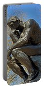 The Thinker By Rodin Portable Battery Charger