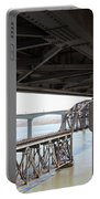 The Three Benicia-martinez Bridges In California - 5d18844 Portable Battery Charger