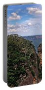 The Three Sisters - The Blue Mountains Portable Battery Charger