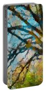 The Tree Of Many Colours  Portable Battery Charger