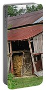 Leaning Barn Portable Battery Charger