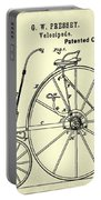 The Velocipede Patent 1880 Portable Battery Charger