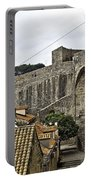 The Wall In Dubrovnik Portable Battery Charger