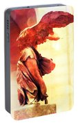 The Winged Victory  Portable Battery Charger