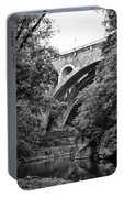 The Wissahickon Creek And Henry Avenue Bridge Portable Battery Charger