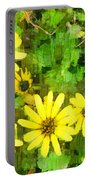 The Yellow Daisies  Portable Battery Charger