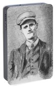 The Young James Joyce Portable Battery Charger