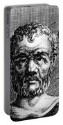 Theophrastus, Ancient Greek Polymath Portable Battery Charger