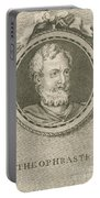 Theophrastus, Ancient Greek Polymath Portable Battery Charger by Science Source