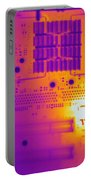 Thermogram Of A Computer Board Portable Battery Charger
